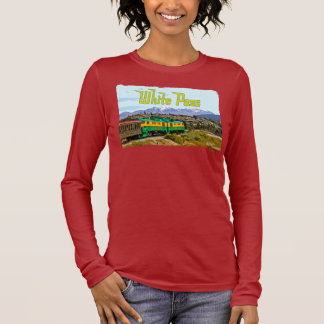 White Pass Ladies Long Sleeve Long Sleeve T-Shirt