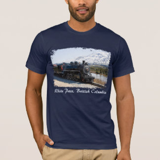 White Pass Train in Snow Men's Shirt