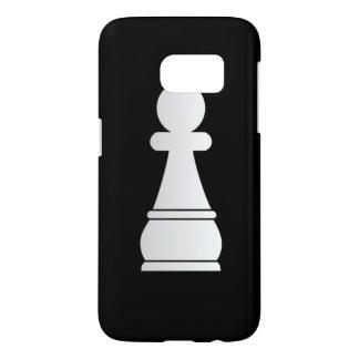 White pawn chess piece