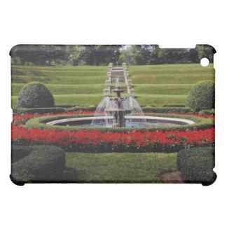 White Peaceful estate gardens flowers iPad Mini Case