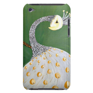 White Peacock Ipod Touch Case