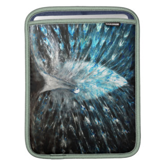 White Peacock Sleeve For iPads