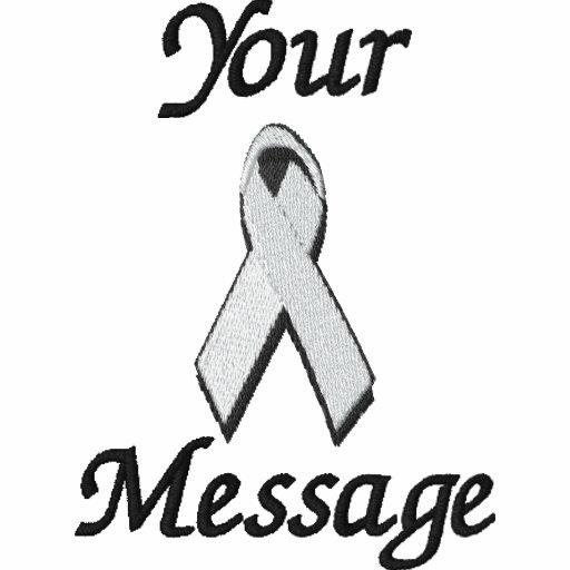 White/Pearl awareness ribbon - Customize