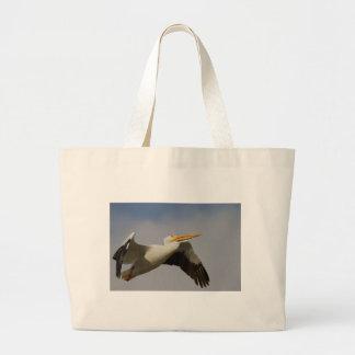 White Pelican Departure Jumbo Tote Bag