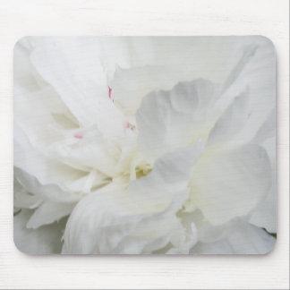 White Peony IMG_0865 Mouse Pad