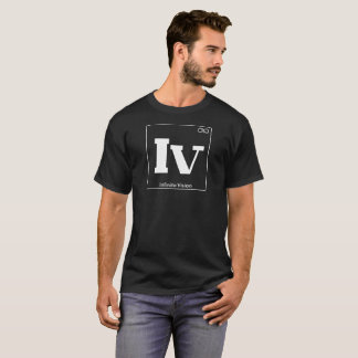 White Periodic Table Infinite Vision T-Shirt
