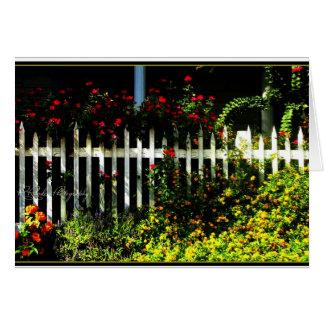White Picket Fences Card