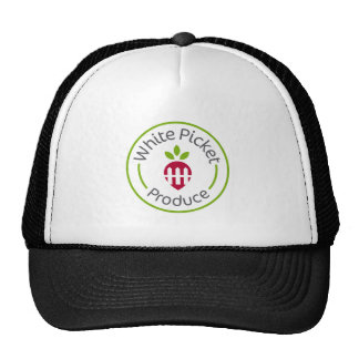 White Picket Produce Apparel Cap