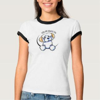 White Piebald Havanese IAAM T-Shirt