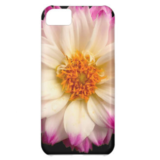 White Pink Flower Black Case-Mate iPhone 5 Barely iPhone 5C Case