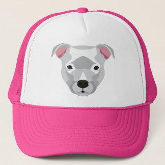 White Pitbull Trucker Hat
