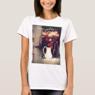 white pitcher PT, Daughter T-Shirt