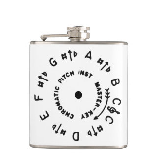 White Pitchpipe Flasks