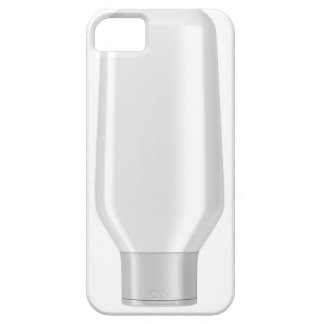 White plastic bottle for shampoo barely there iPhone 5 case