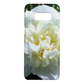 white poeny Case-Mate samsung galaxy s8 case