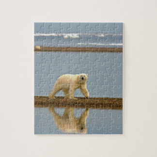 White Polar Bear Jigsaw Puzzle