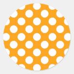 White Polka Dots Any Colour change