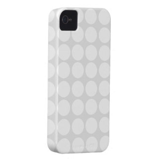 White Polka Dots iPhone Case Case-Mate iPhone 4 Cases