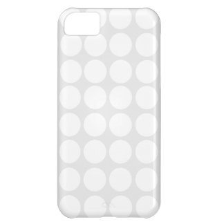 White Polka Dots iPhone Case iPhone 5C Case