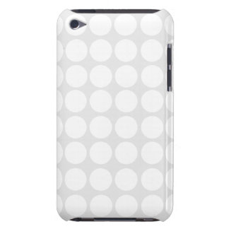 White Polka Dots iPod Case iPod Touch Covers