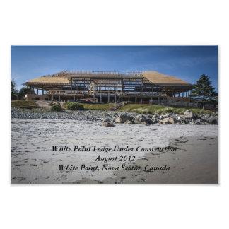 White Pont Beach Lodge Under Construction Photo