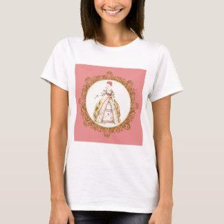 White Poodle Marie Antoinette T-Shirt