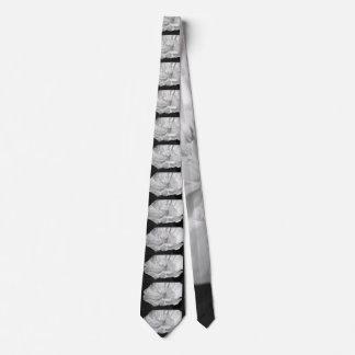 White Poppy Tie