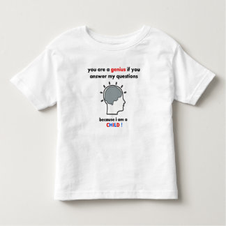 White Printed t-shirts for toddlers