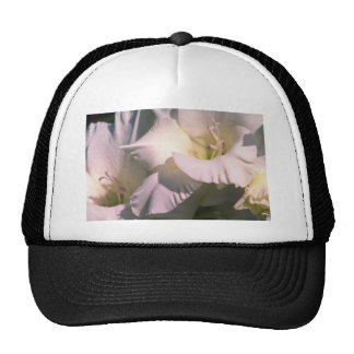 white Pure white flowers Hat
