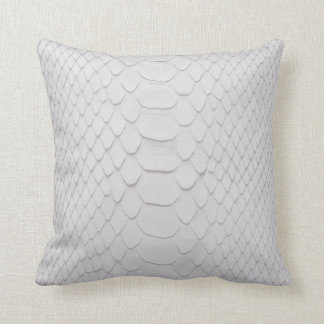White Python Cushion