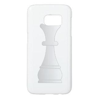 White queen chess piece