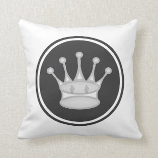 White Queen Chess Piece Cushion