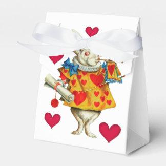White Rabbit 1 Wedding Favour Box