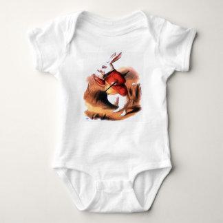 White Rabbit Alice in Wonderland Baby Clothes Baby Bodysuit