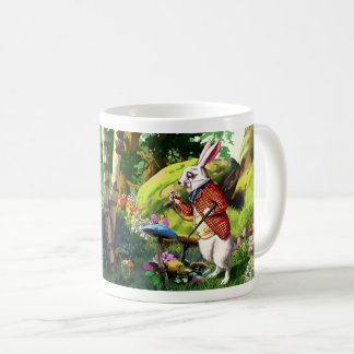 "White Rabbit | ""Alice in Wonderland"" Easter Mugs"