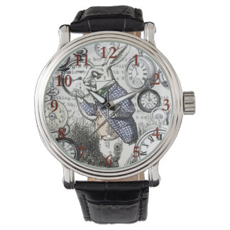 White Rabbit Alice Time Watch