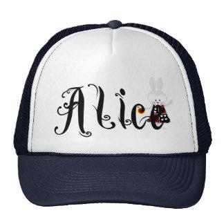 White Rabbit - Alice's Adventures in Wonderland Trucker Hat