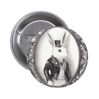 White Rabbit - Button