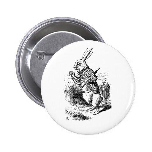 White rabbit button (time management)