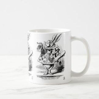 White Rabbit dressed as Herald Coffee Mug