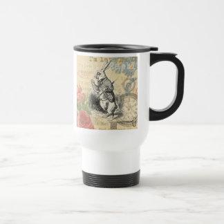 White Rabbit from Alice in Wonderland Mugs