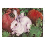 White Rabbit in the Pumpkin Patch Cards