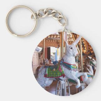 """""""White Rabbit"""" Key Ring"""