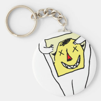 White Rabbit Key Ring