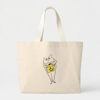 White Rabbit Large Tote Bag