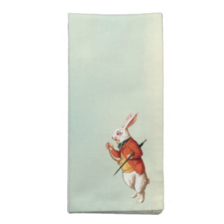 White Rabbit Napkin