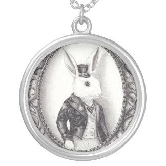 White Rabbit Necklace White Rabbit Jewelry