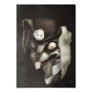 White Rabbit Art Photo