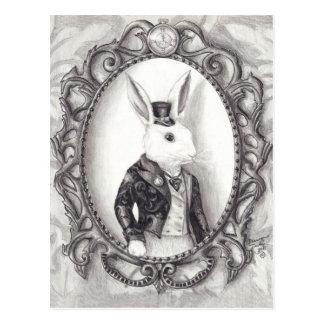White Rabbit - Postcard