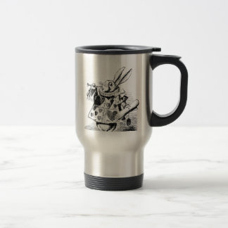 White Rabbit Travel Mug